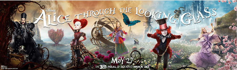Excited to know some Alice Through The Looking Glass movie trivia? Get the inside details, then see the film in theaters at the debut May 27th!