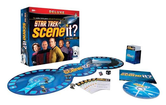 Star Trek Party Ideas: Star Trek Scene It