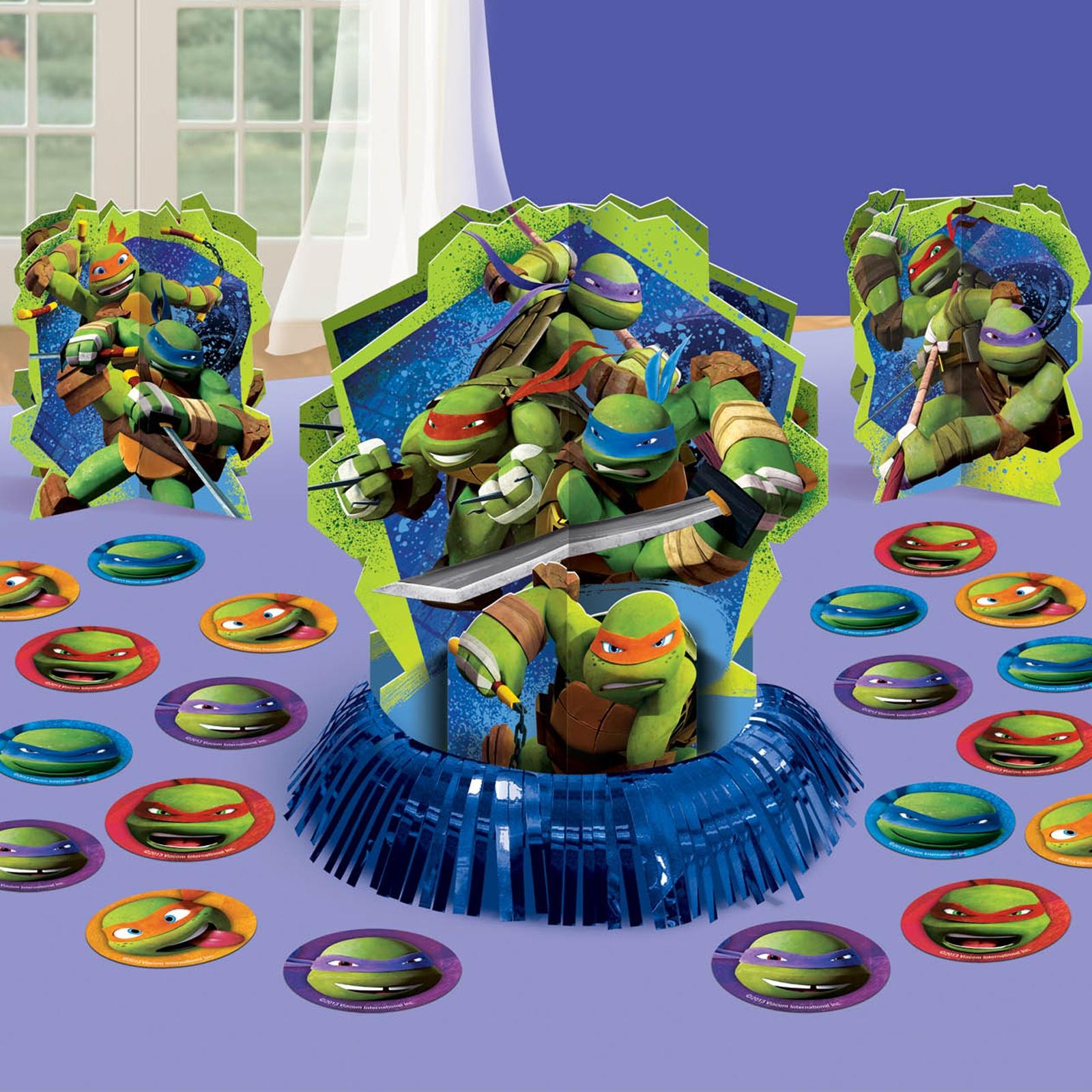 Teenage Mutant Ninja Turtles Party Supplies Table Decor