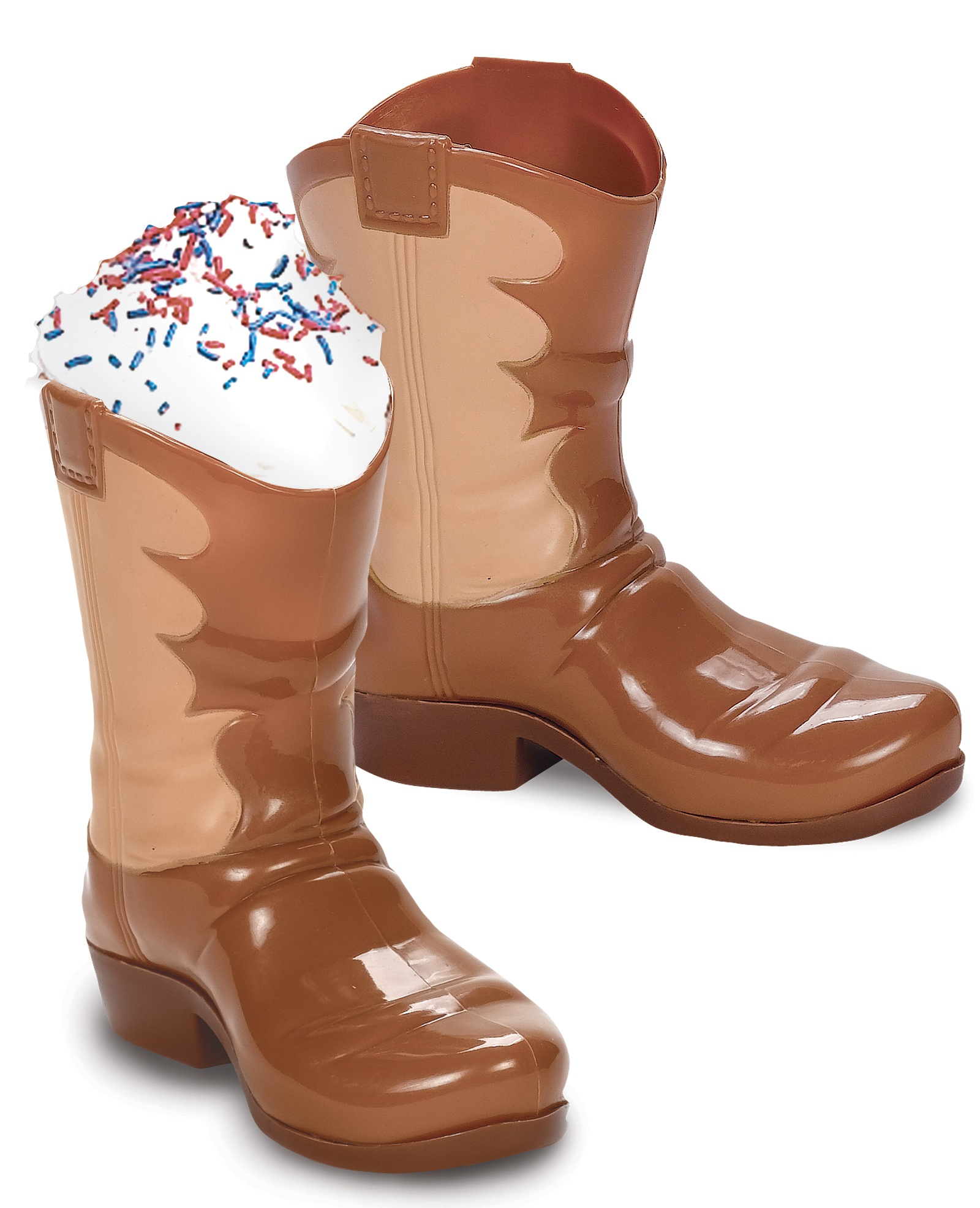 Western Boot Cup pink cowgirl party ideas