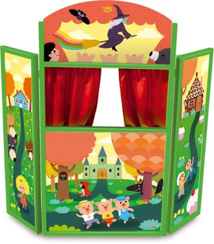 Fairy Tales Puppet Theater Toys for Kids