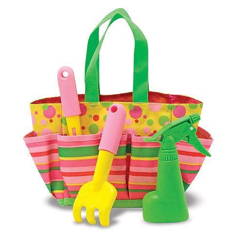 Blossom Bright Gardening Tote from Melissa & Doug Easter Shop