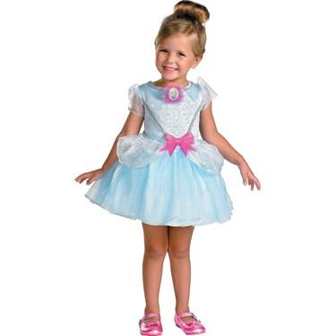 Disney Cinderella Ballerina Toddler / Child Costume Best Cinderella Costume for Kids