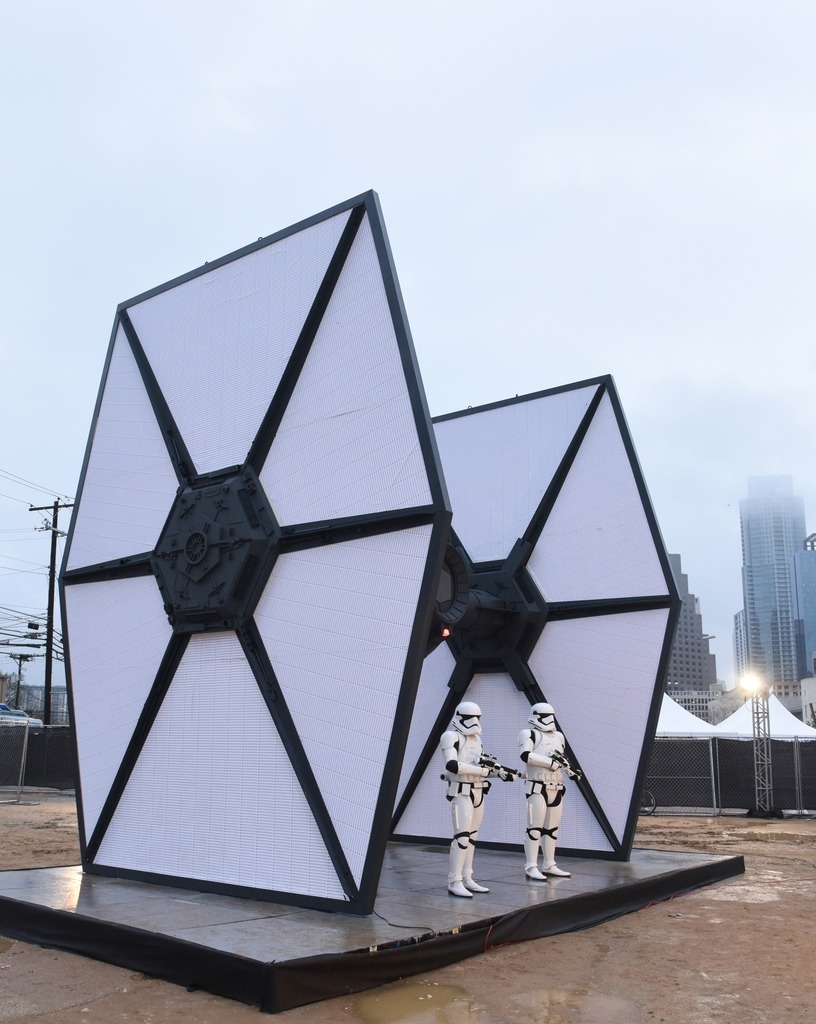Star Wars: The Force Awakens Movie: Images From The First Order landing at SXSW