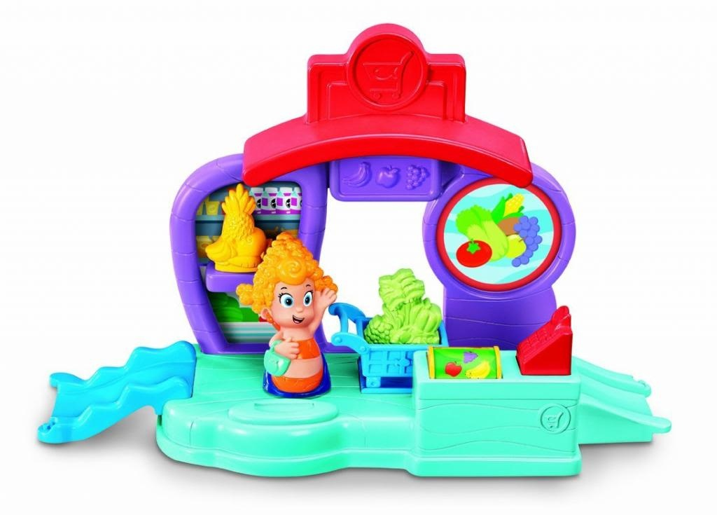 Bubble Guppies Bubbletucky Market Toys for Toddlers