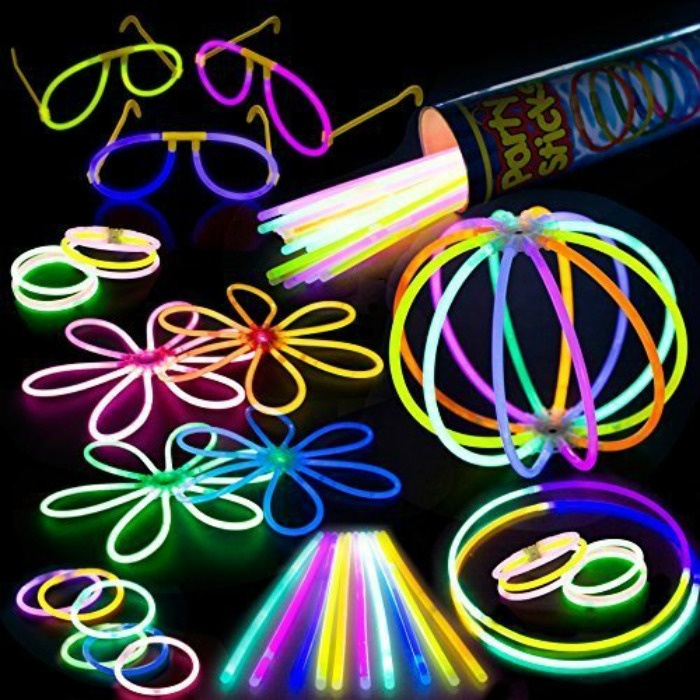 7 Amazing Glow In The Dark Party Ideas That Are Killing It For Fall- Party Pack of Glow Sticks