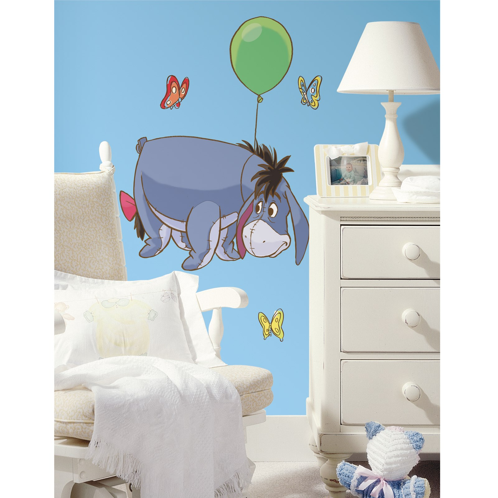 Disney Eeyore Giant Peel and Stick Wall Decals: Winnie the Pooh Party Games for Kids