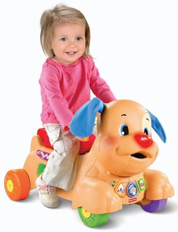 Laugh and Learn Ride on Puppy
