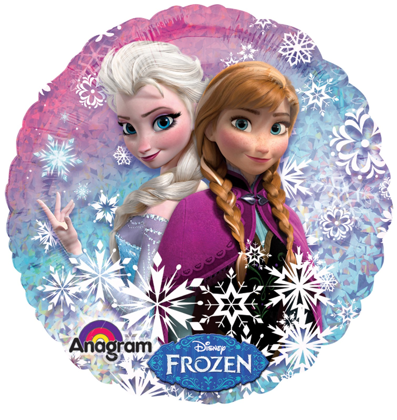 Disney Frozen party supplies foil balloon