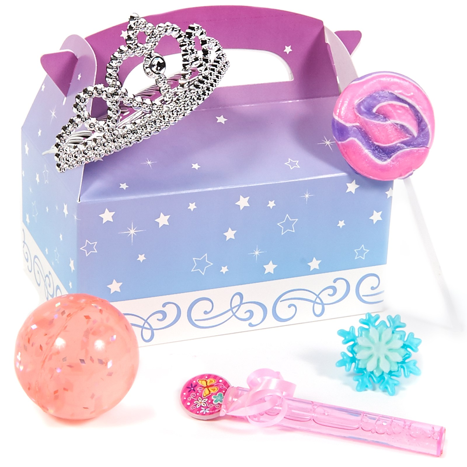 Disney Frozen party supplies favor box