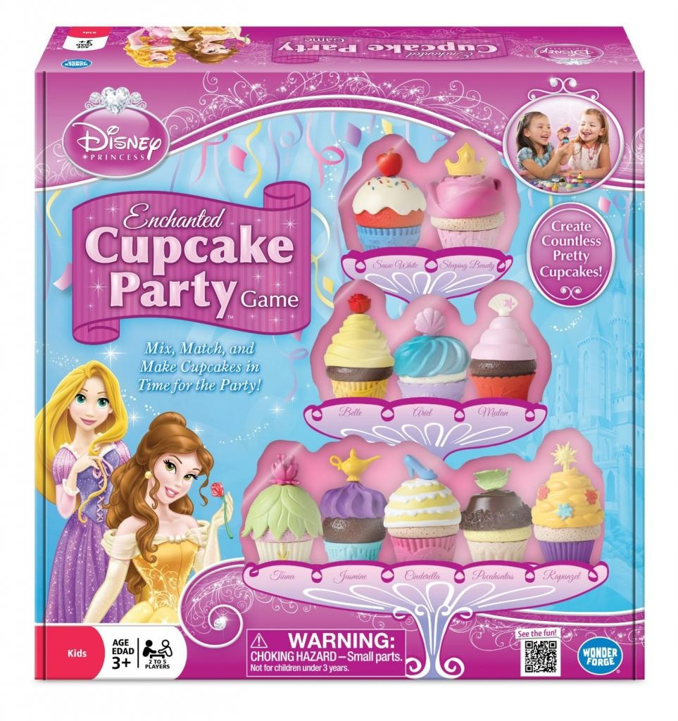 Best Party Board Games For Kids: Enchanted Cupcake Party Game