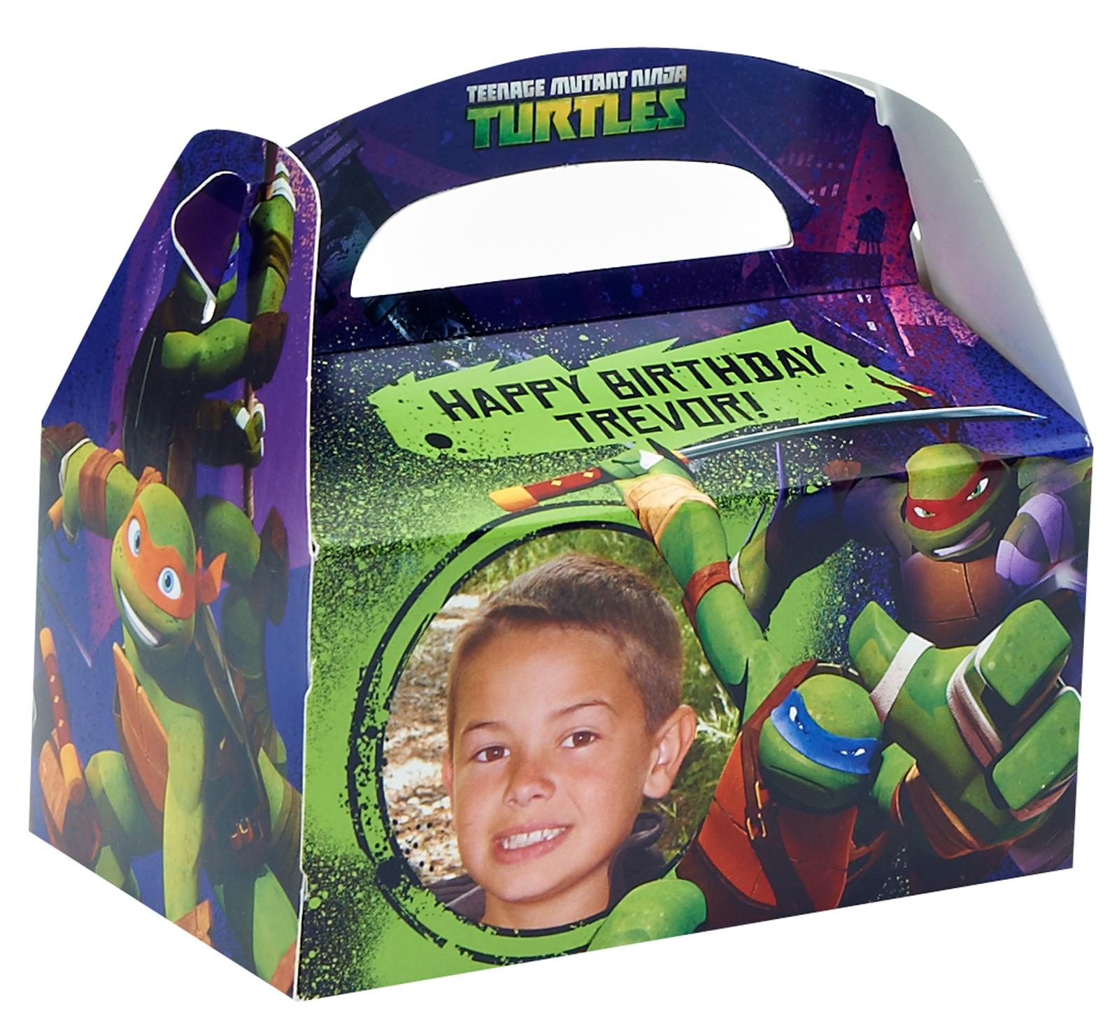 Teenage Mutant Ninja Turtles Party Supplies: Favor Boxes