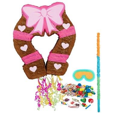 Pink Cowgirl Pinata Kit pink cowgirl party ideas