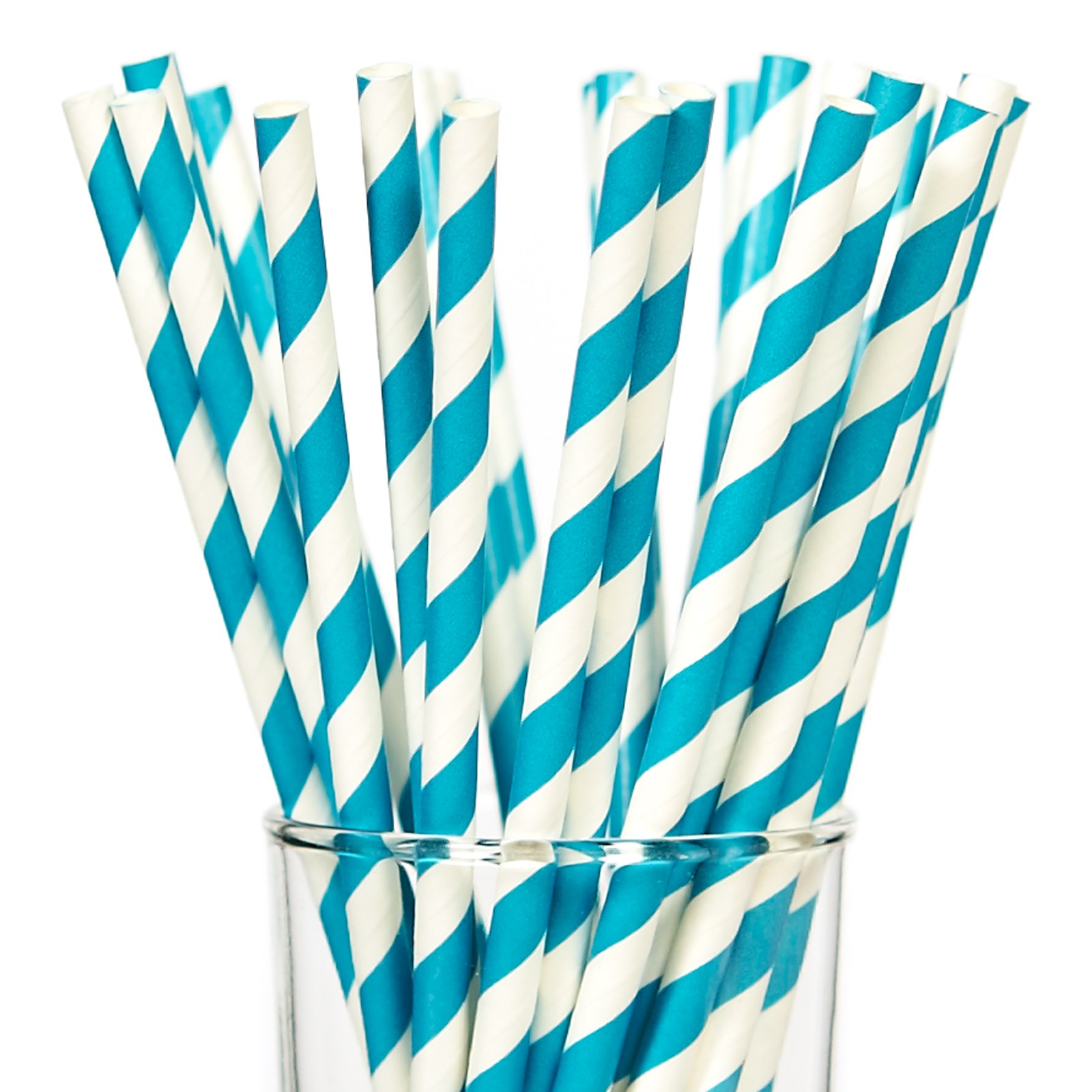 Disney Frozen party supplies aqua straws
