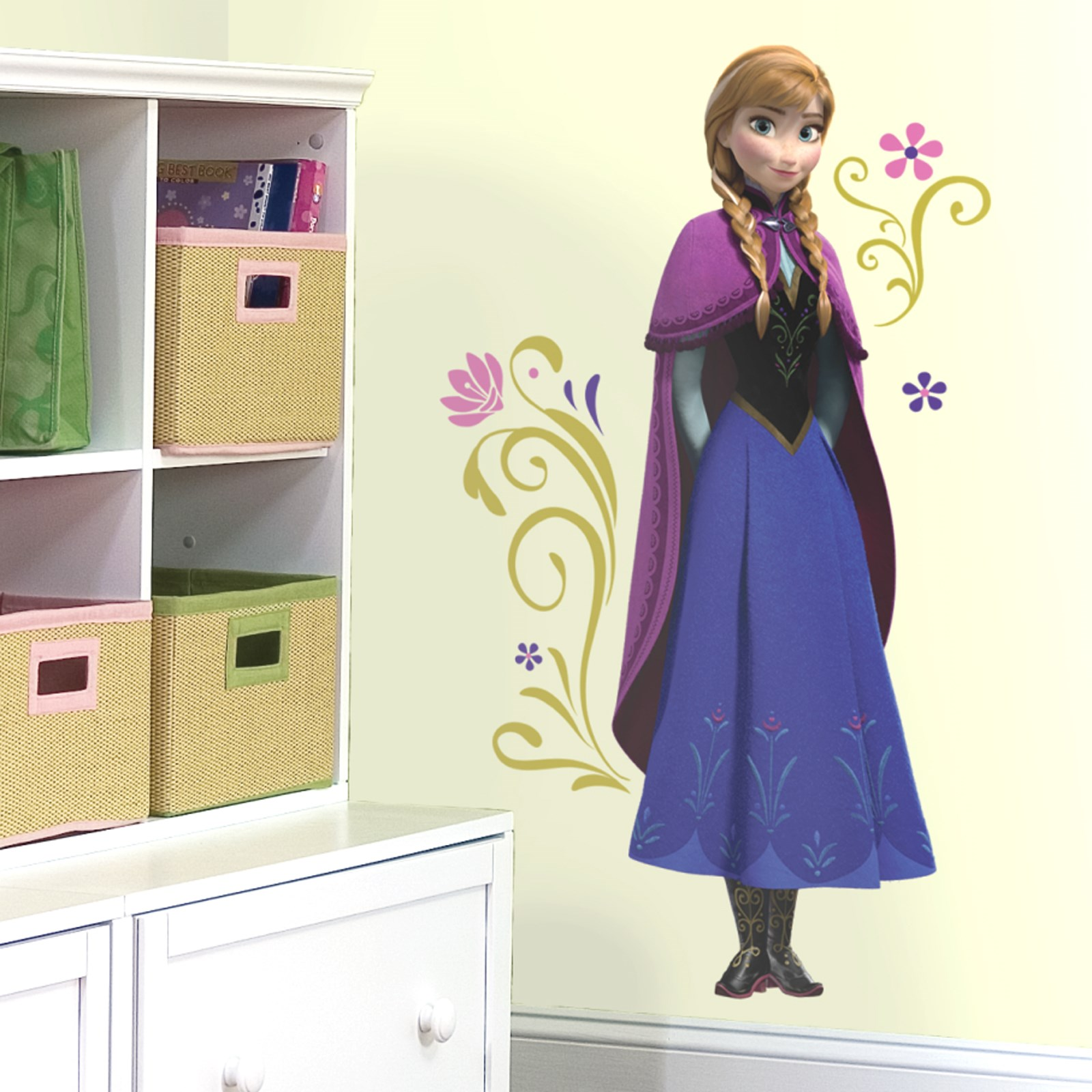 Disney Frozen party supplies wall decal