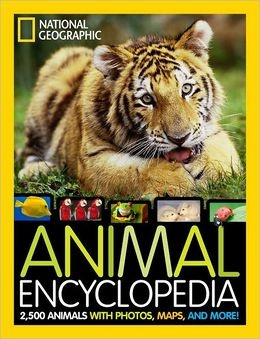 National Geographic Animal Encyclopedia: One of the best kids books to teach kids about animals