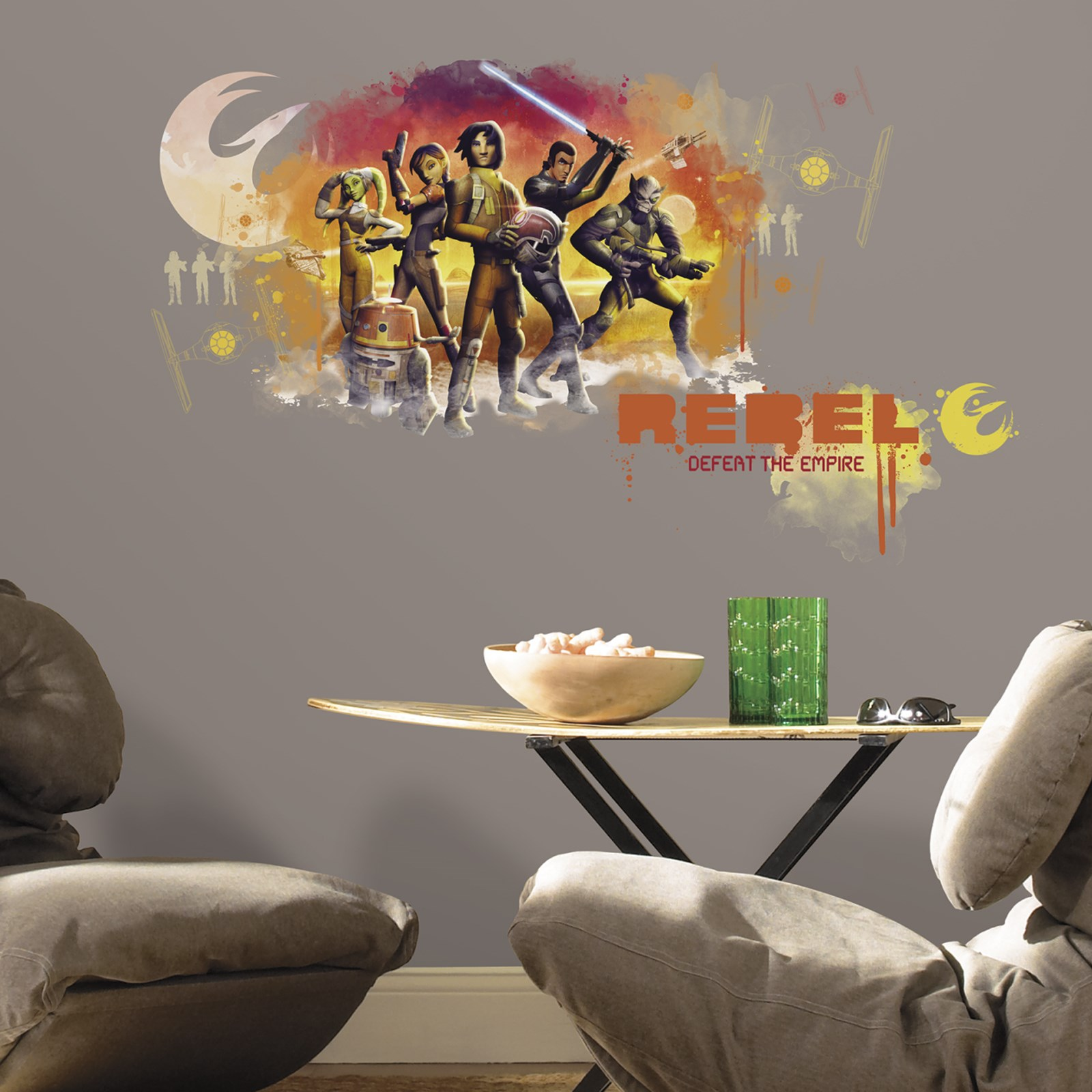 Star Wars Rebels Party Giant Wall Decals