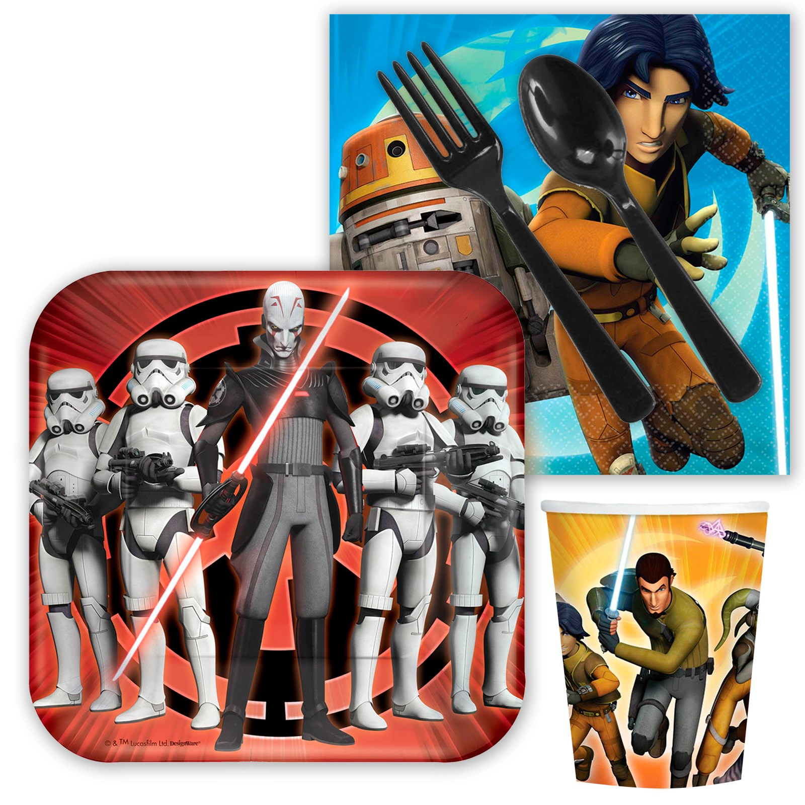 Star Wars Rebels Party Snack  Pack
