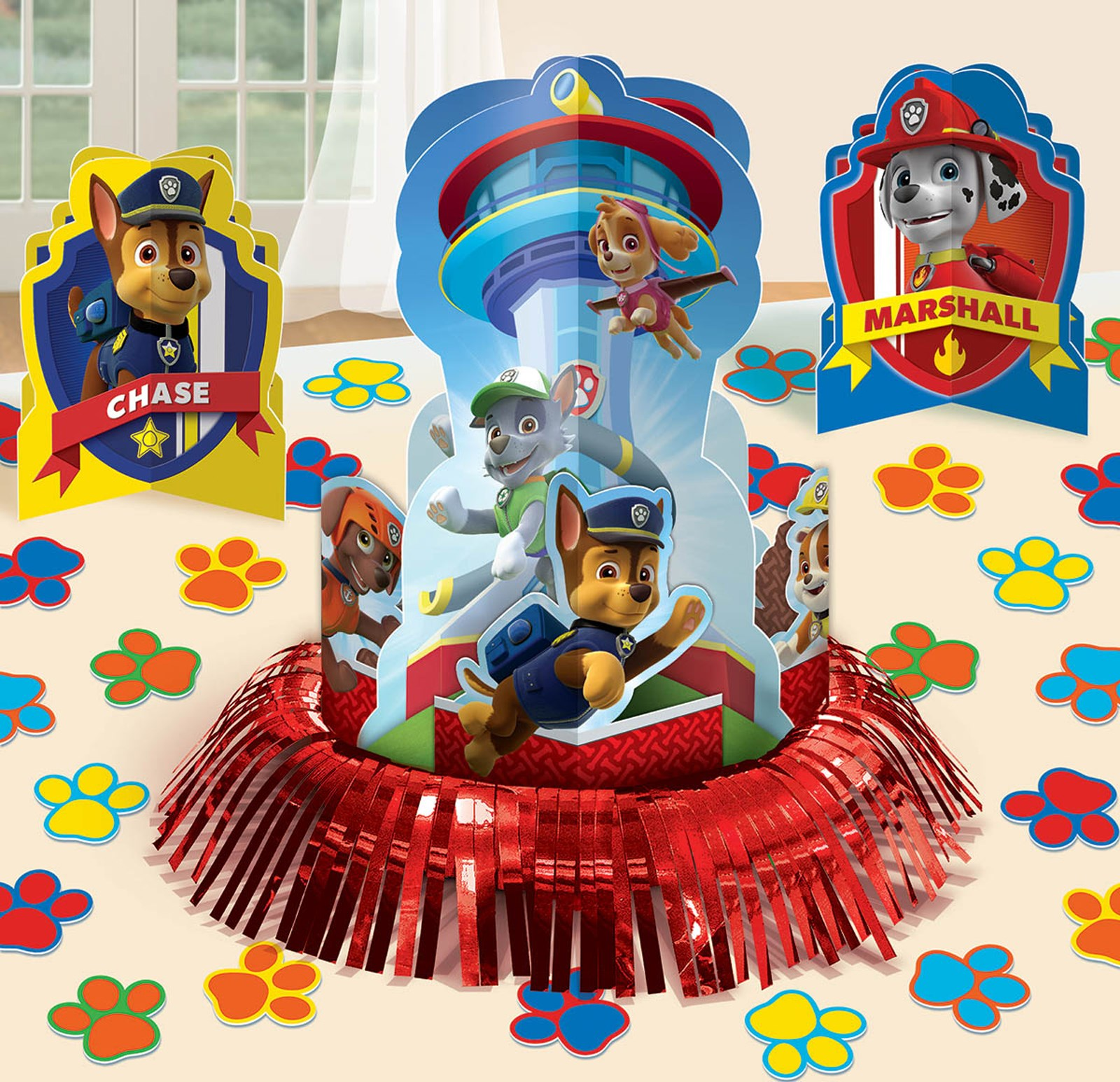 PAW Patrol Table Decorating Kit How to Throw the Perfect PAW Patrol Birthday Party