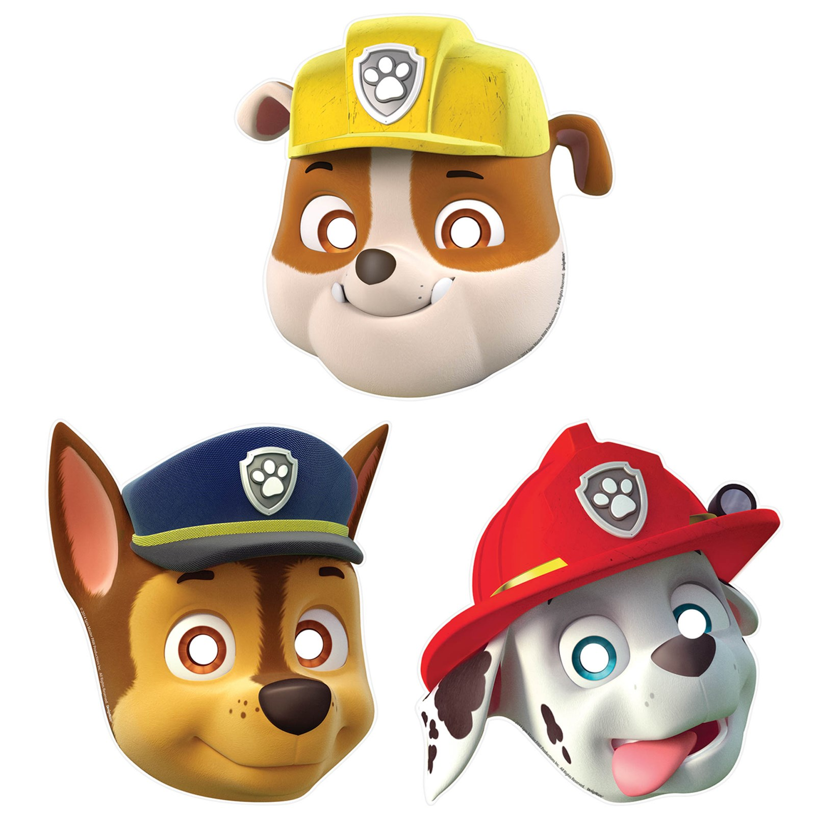 PAW Patrol Paper Masks (8) How to Throw the Perfect PAW Patrol Birthday Party
