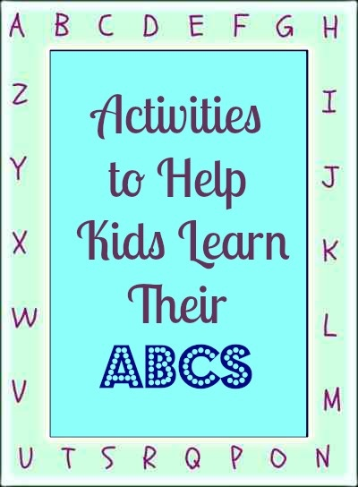Activities That Help Kids Learn the ABC's
