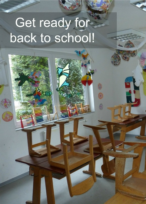 Getting Ready for Back to school at Daddy Camp