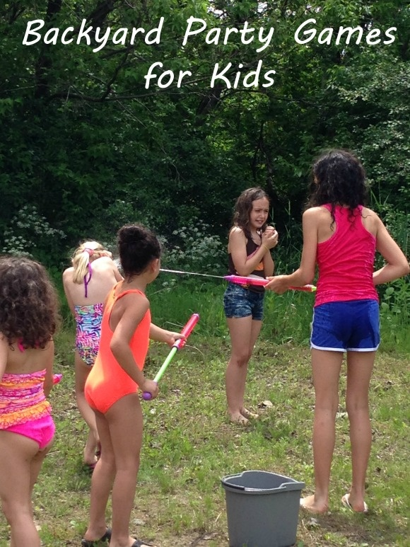 Backyard Party Games for Kids