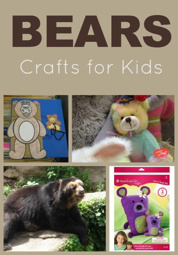 Fun Bears Crafts for Kids Ideas to Celebrate Disneynature's Bears Movie