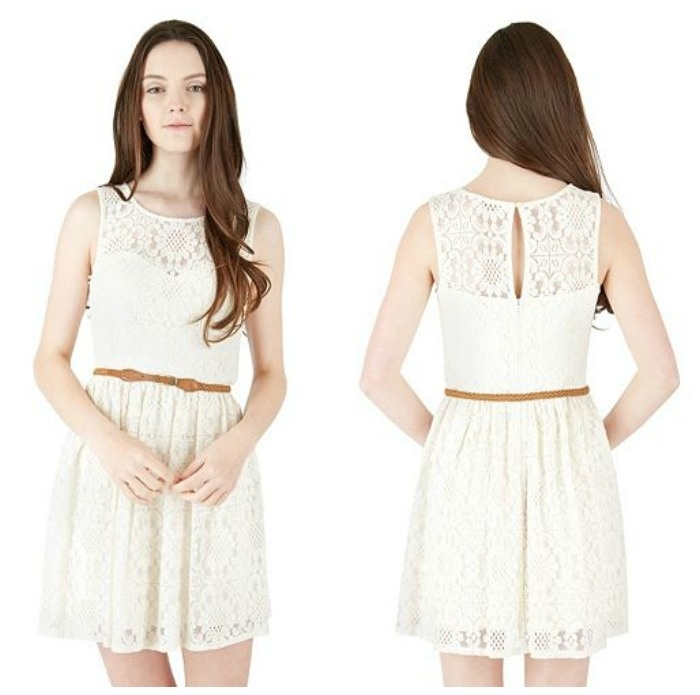 Graduduation Dress Idea: California Lace Skater Dress