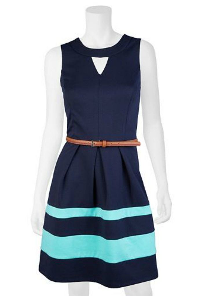 Graduation Dress Idea: California Ponte Fit And Flare Dress