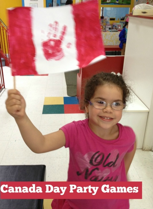 Canada Day Party Games For Kids