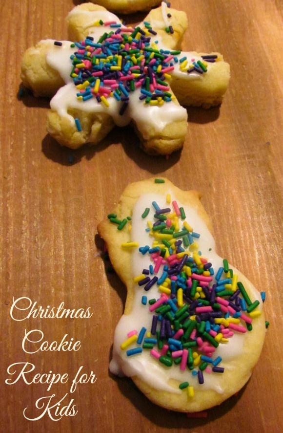 Christmas Activities for Kids: Make Christmas Cookies