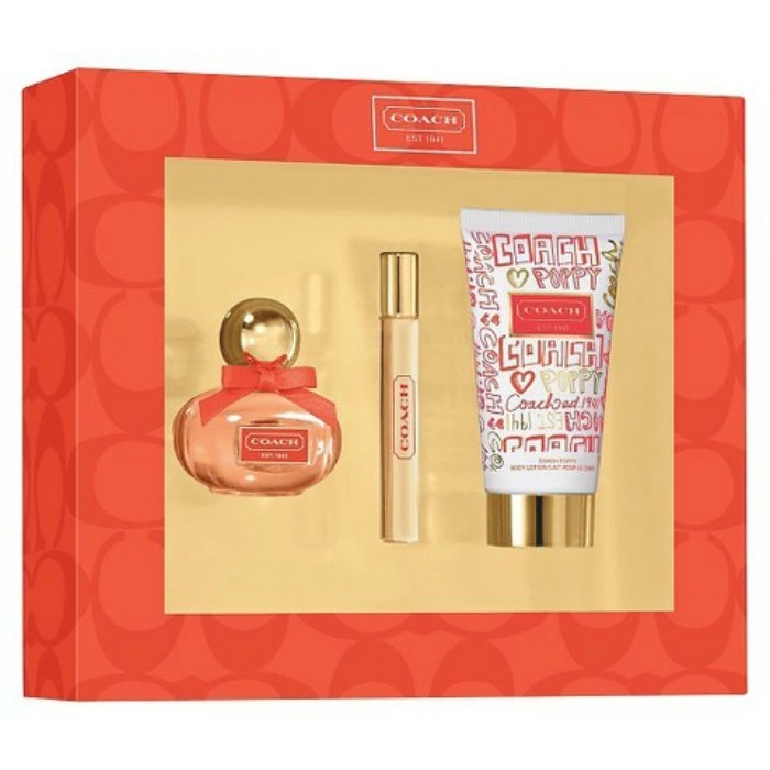 Mother's Day Gift Ideas: Coach Poppy Fragrance Set