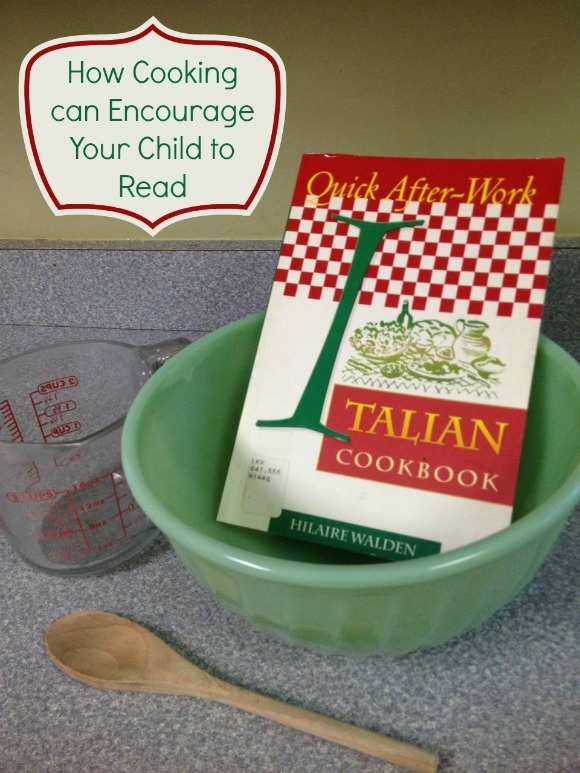 How Cooking Can Encourage Your Child to Read