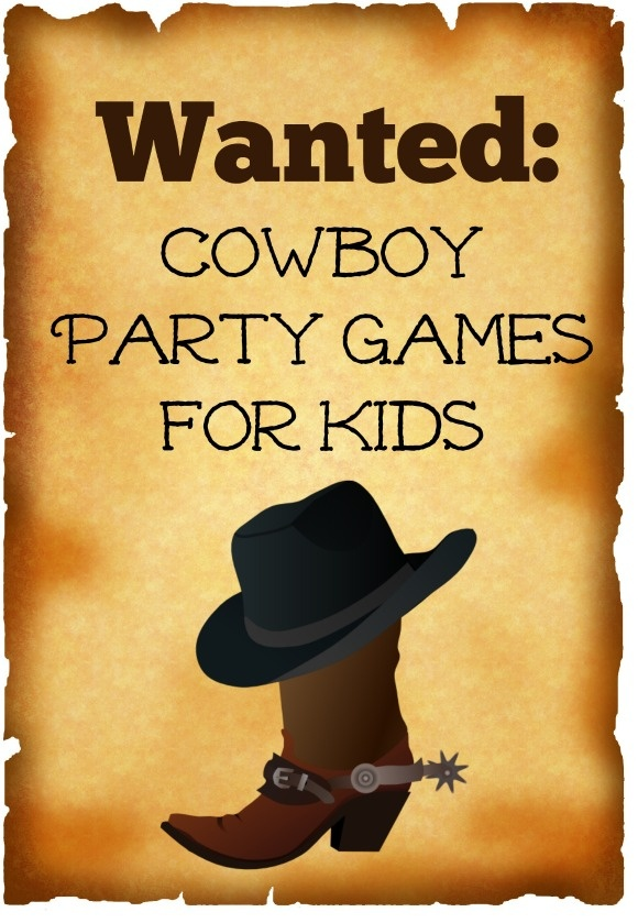 Cowboy Party Games for Kids to Capture the Spirit of the Wild West