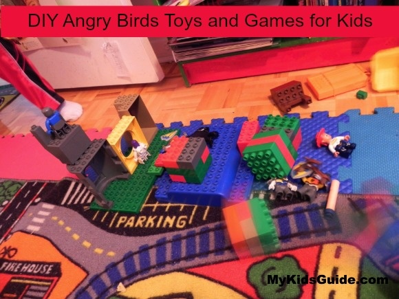 DIY Angry Birds Toys and Games for Kids