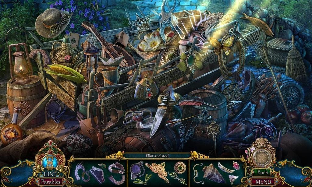 Find hidden objects to fill your inventory and discover clues to unlock the curse of Dark Parables: Queen of Sands