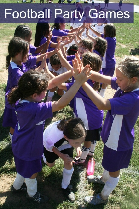 Football party games to really kick off the fun at your sports parties!
