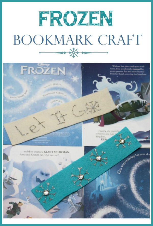 Frozen Craft for Kids | Mark Your Place in Arendelle with this Frozen Bookmark Craft for Kids!| MyKidsGuide.com