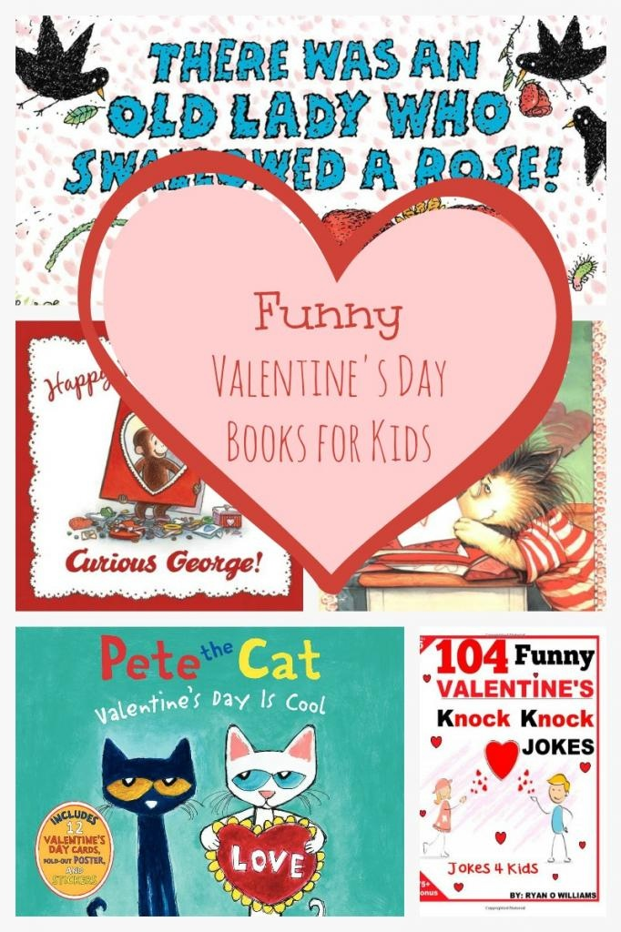 """Nothing says """"love"""" better than curling up with your tot and laughing together! Check out our favorite Funny Valentine's Day Books for Kids!"""