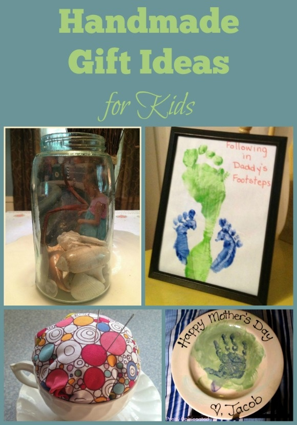 These cute crafts for kids all make terrific handmade gift ideas for family!