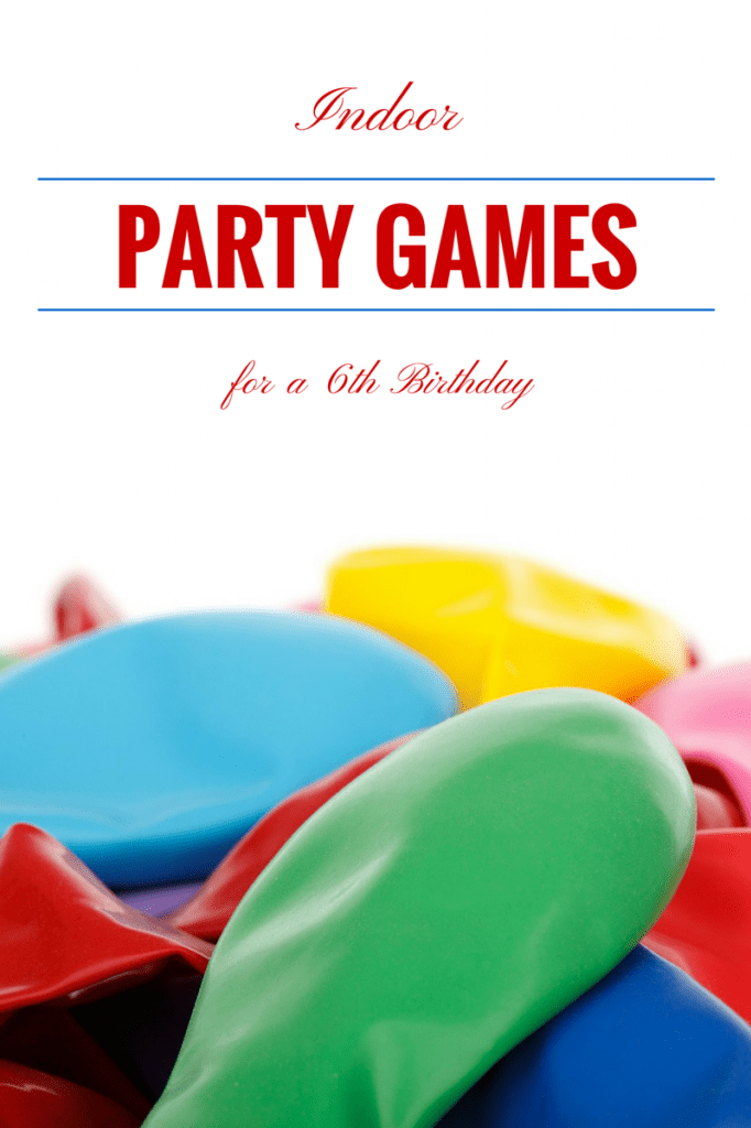 Looking for fun indoor party games for age 6? We have some creative DIY party planning ideas that will turn your child's 6th birthday party into a hit!