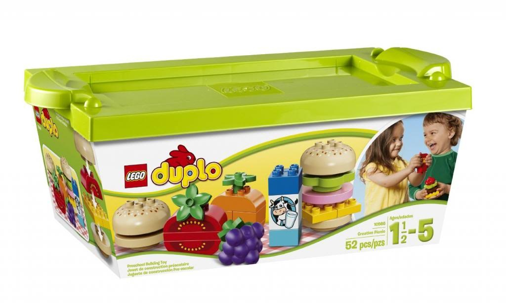 The LEGO Duplo picnic playset is one of our favorite camping toys for toddlers