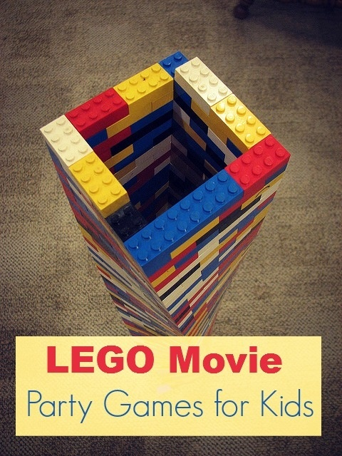 Best Movie-Inspired Party Ideas for Kids : Lego Movie