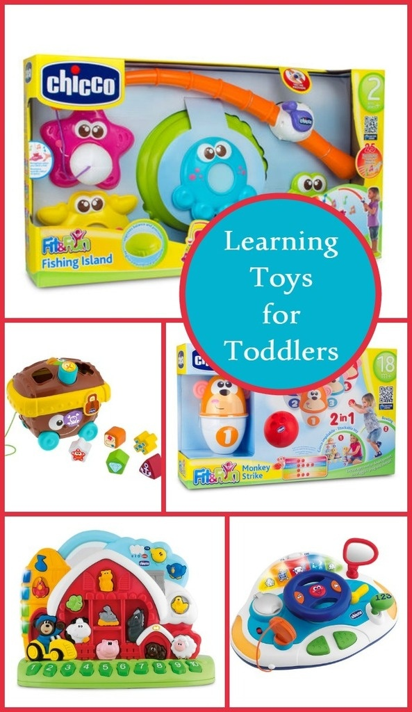 Help your little one reach those skills and milestones with these fun and educational learning toys for toddlers from Chicco!