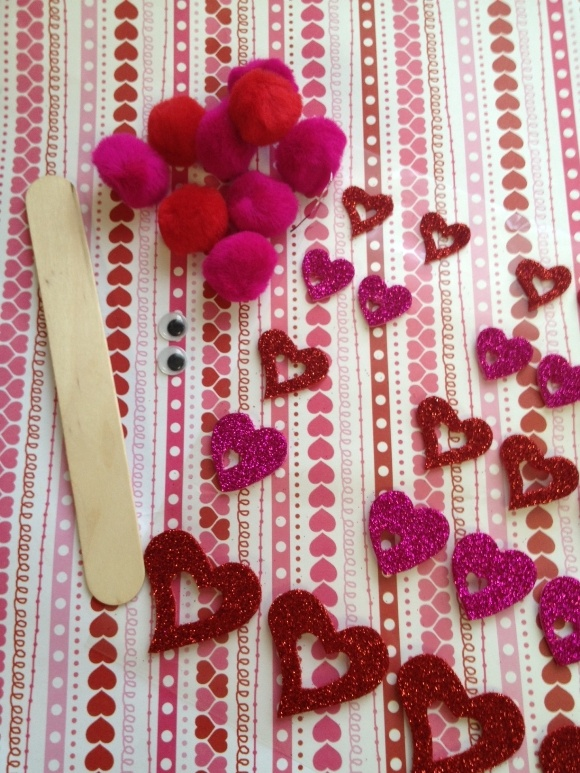 Valentine's Day Craft for Kids: Love Bug Supplies by MyKidsGuide
