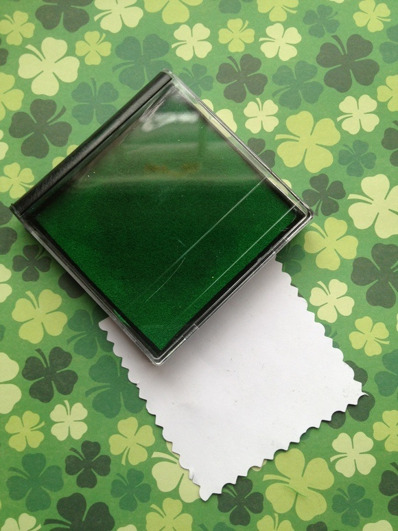 St. Patrick's Day Craft for Kids: Lucky Fingerprint Clovers