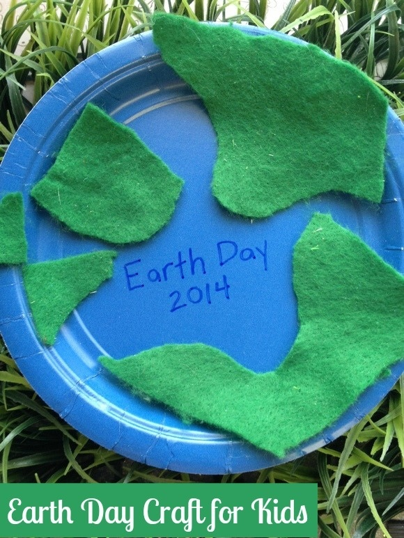 Earth Day Craft for Kids: Fun Earth Day Sign