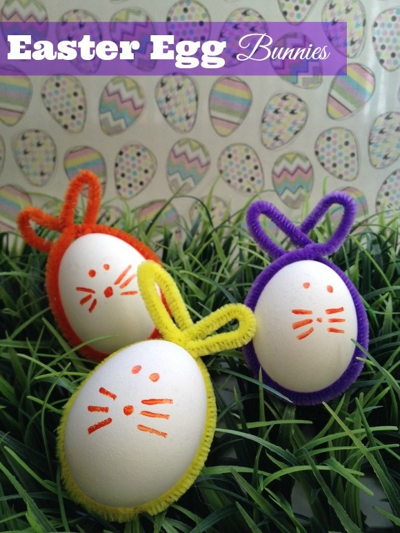 Easter Egg-citement: Easter Egg Bunnies Craft for Kids