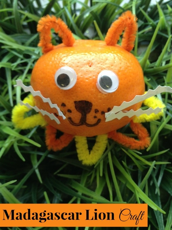 Madagascar Movie Fun: Madagascar Lion Craft for Kids